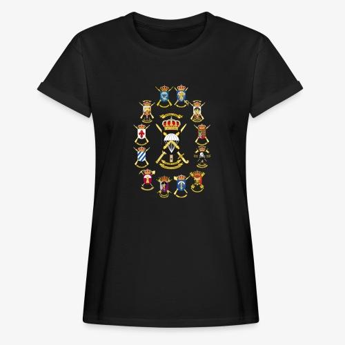 UNIDADES BRIPAC - Camiseta holgada de mujer