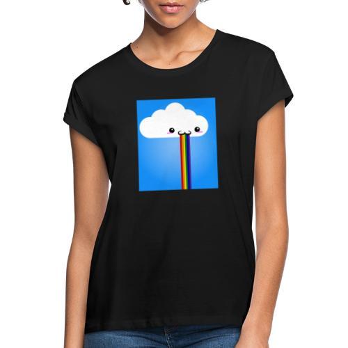 rainbow - Frauen Oversize T-Shirt