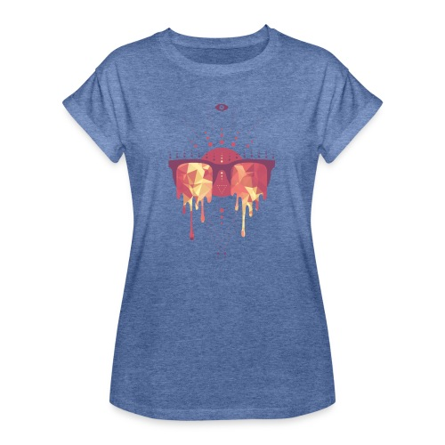 summer png - Dame oversize T-shirt