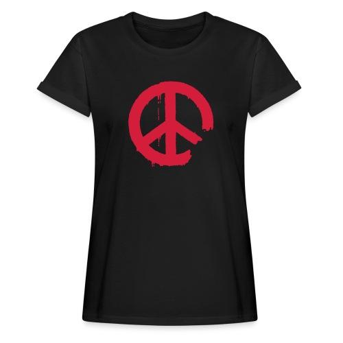 PEACE - Frauen Oversize T-Shirt
