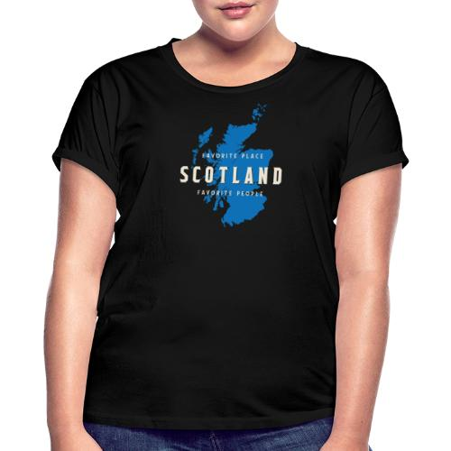 Scotland: Favorite Place, Favorite People - Frauen Oversize T-Shirt