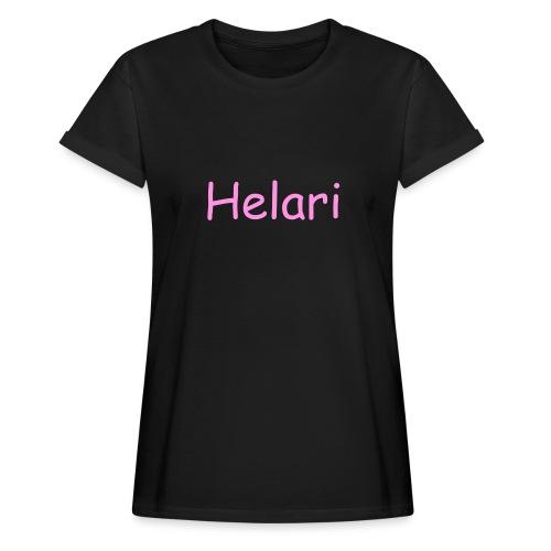 Helari Merch - Naisten oversized-t-paita