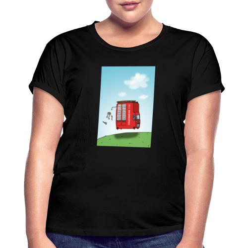 Feuerwehrwagen - Frauen Oversize T-Shirt