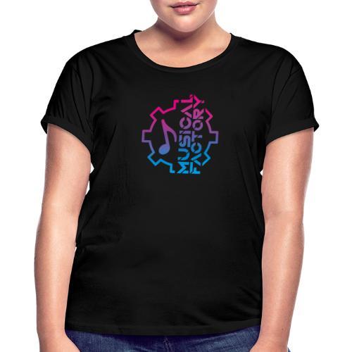 Musical Factory Marchio - Maglietta ampia da donna
