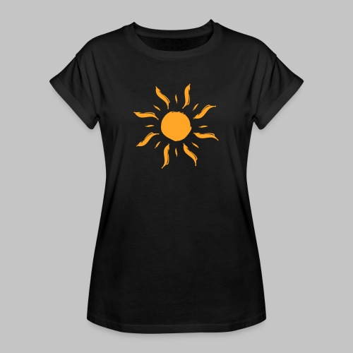 Sonne by ms-creative.com - Frauen Oversize T-Shirt