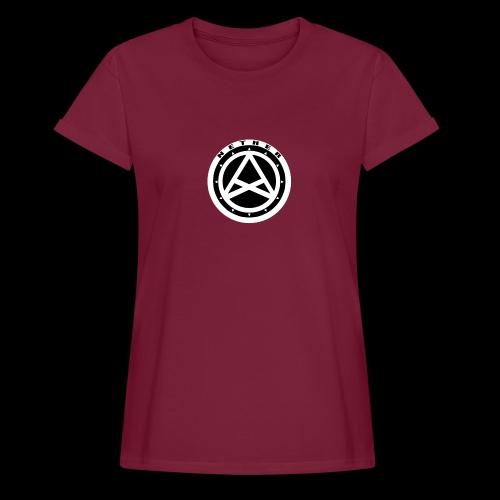 Nether Crew Black\White T-shirt - Maglietta ampia da donna