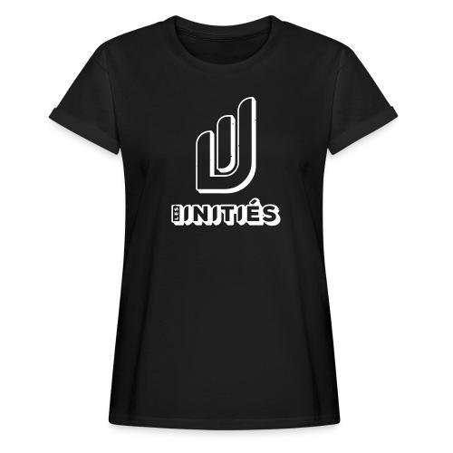 Les initiés - T-shirt oversize Femme