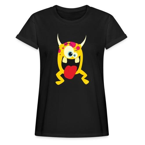 Monster Yellow - Vrouwen oversize T-shirt
