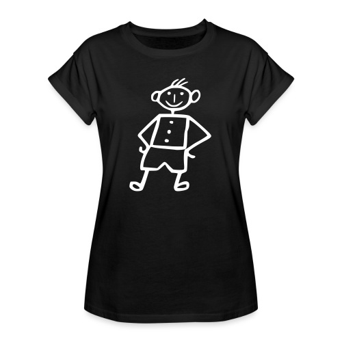 me-white - Frauen Oversize T-Shirt