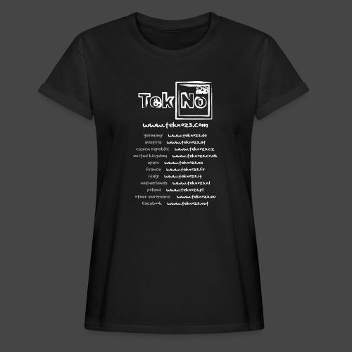 tekno23 - T-shirt oversize Femme