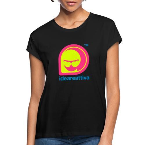 Ideareattiva Logotype - Maglietta ampia da donna