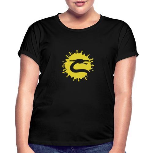 Dragemester_Guld - Dame oversize T-shirt