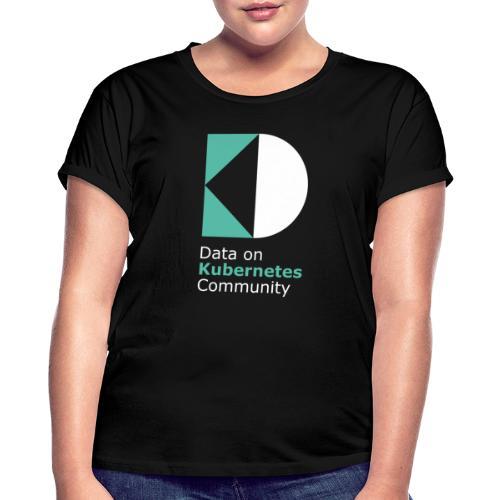 logoDockOK - Camiseta holgada de mujer