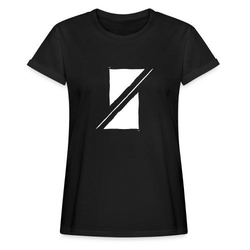 Muzik & Friendz Records Logo - Vrouwen oversize T-shirt