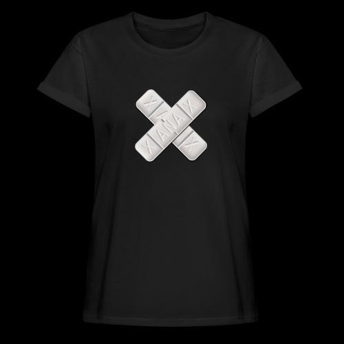 Xanax X Logo - Frauen Oversize T-Shirt