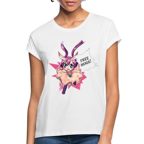 Free hugs (white lines) - Women's Oversize T-Shirt