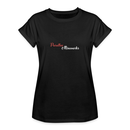 Parallax Mineworks logo - Women's Oversize T-Shirt