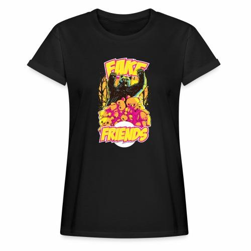 Fake Friends - Frauen Oversize T-Shirt