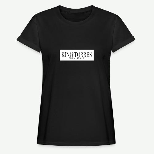 king torres - Camiseta holgada de mujer