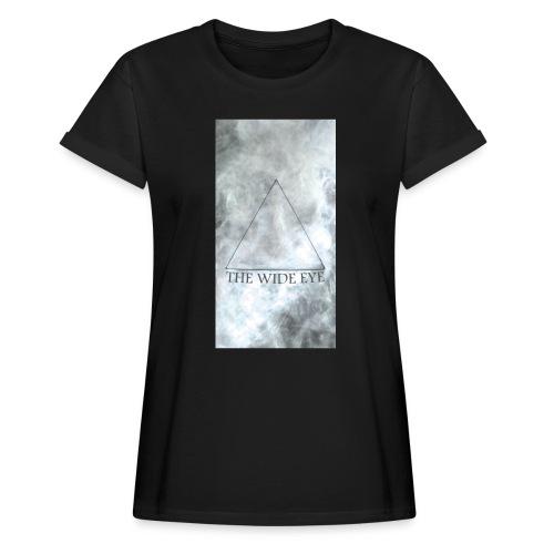 THE WIDE EYE Motiv A - Oversize-T-shirt dam