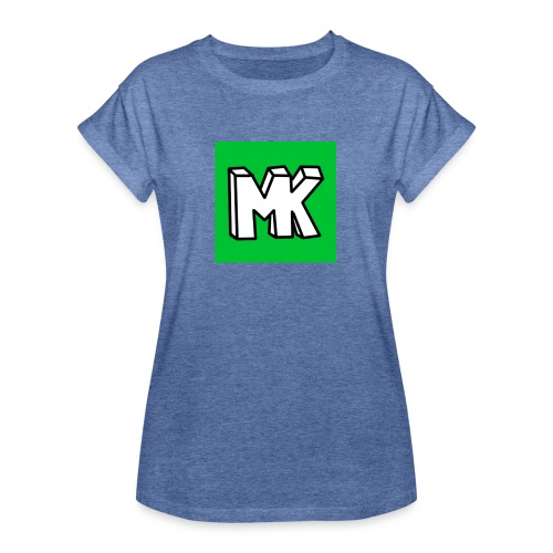 MK - Vrouwen oversize T-shirt