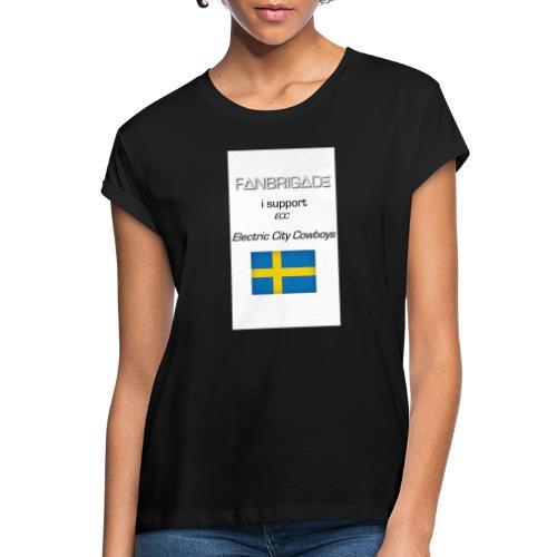 Fanbrigade - Dame oversize T-shirt