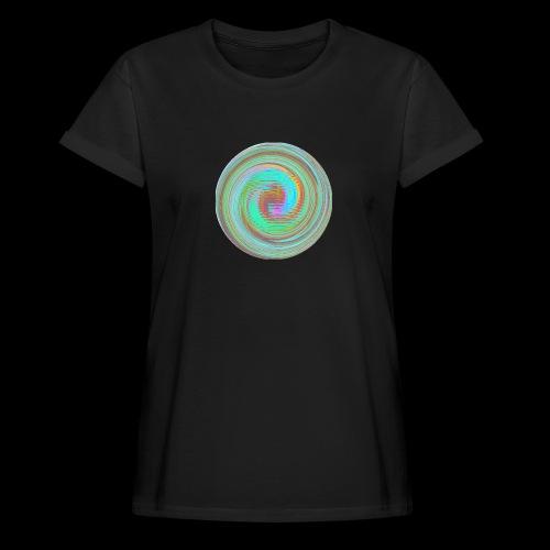 Illusion d'optique - T-shirt oversize Femme