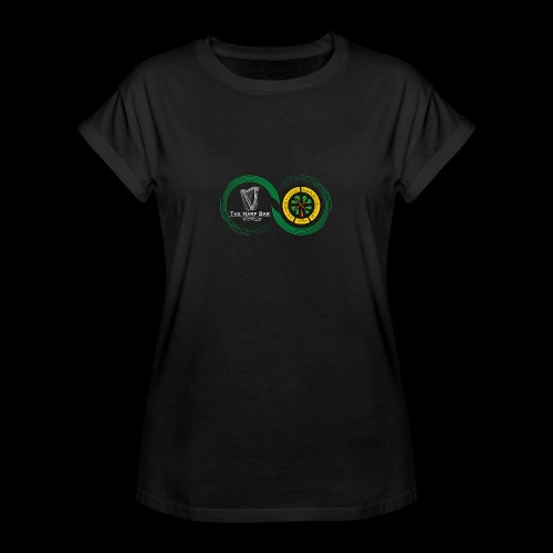 Harp and French CSC logo - T-shirt oversize Femme