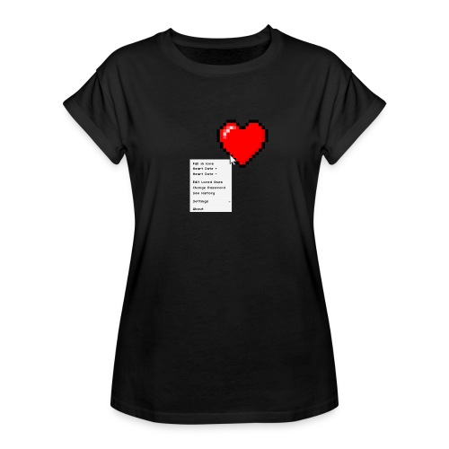 Options of the heart - Dame oversize T-shirt