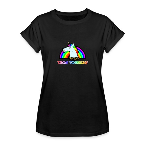Logo officiel de la team forcing - T-shirt oversize Femme