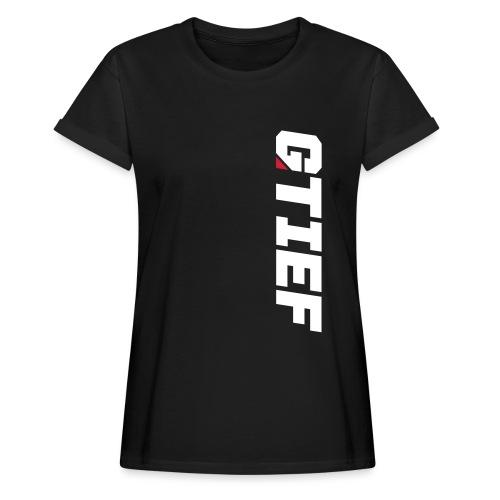 GTIEF - Frauen Oversize T-Shirt