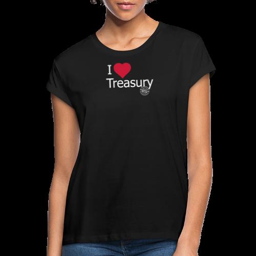 I LOVE TREASURY - Women's Oversize T-Shirt