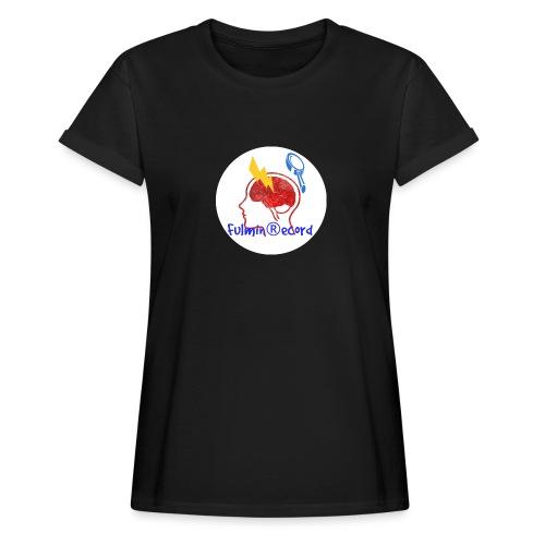 Fulmin Record - Maglietta ampia da donna