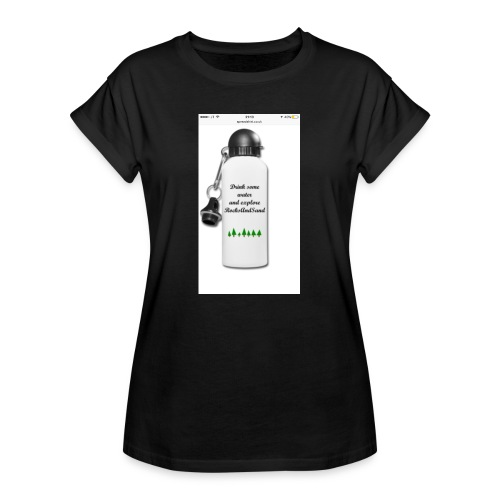 RocksAndSand adventure bottle - Women's Oversize T-Shirt