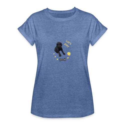Giant Schnauzer puppy - Women's Oversize T-Shirt