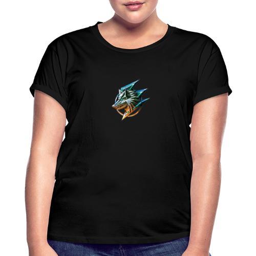 AZ GAMING WOLF - Women's Oversize T-Shirt