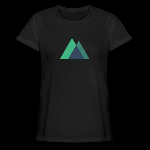Mountain Logo - Women's Oversize T-Shirt