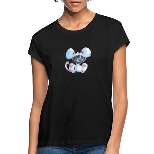 Maskenmaus - Frauen Oversize T-Shirt