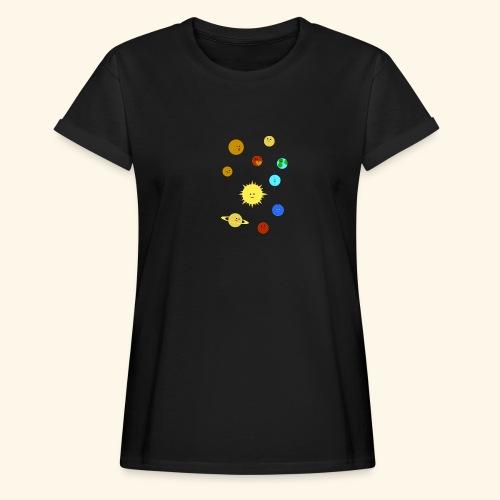 Solsystemet - Oversize-T-shirt dam