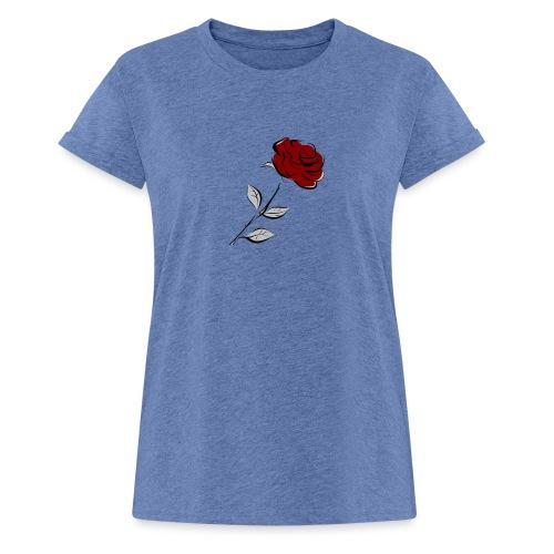 Rose FeKo Oberteile für Frauen und Männer. - Frauen Oversize T-Shirt