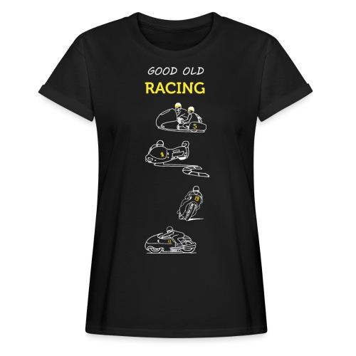 Good old racing - T-shirt oversize Femme