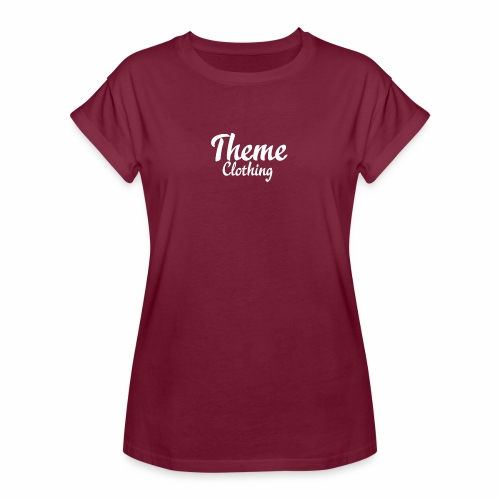Theme Clothing Logo - Women's Oversize T-Shirt