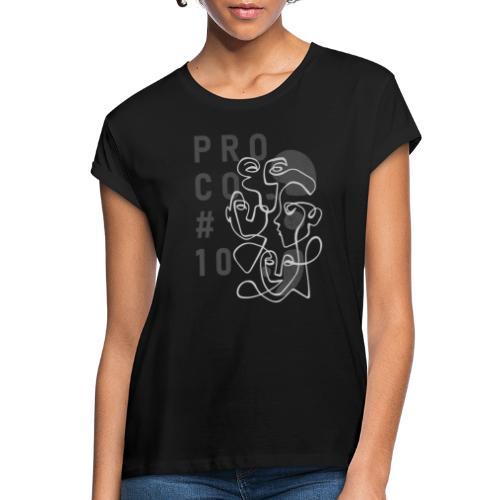 shirt dunkelgrau - Frauen Oversize T-Shirt