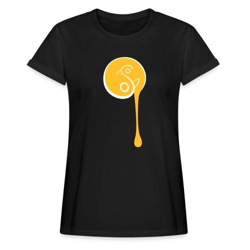 YinYang Birds - Frauen Oversize T-Shirt
