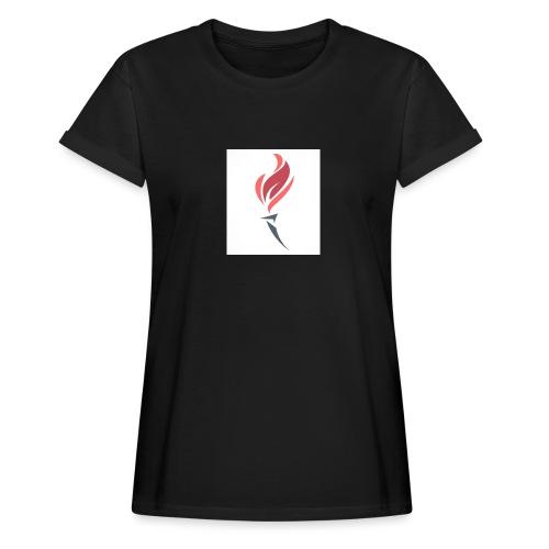Torched Senkron - Women's Oversize T-Shirt