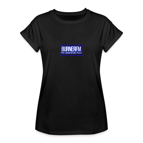 BurnerFM Hier Sürst du den Sound - Frauen Oversize T-Shirt