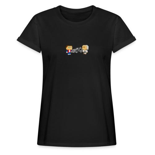 Time Machine - Frauen Oversize T-Shirt