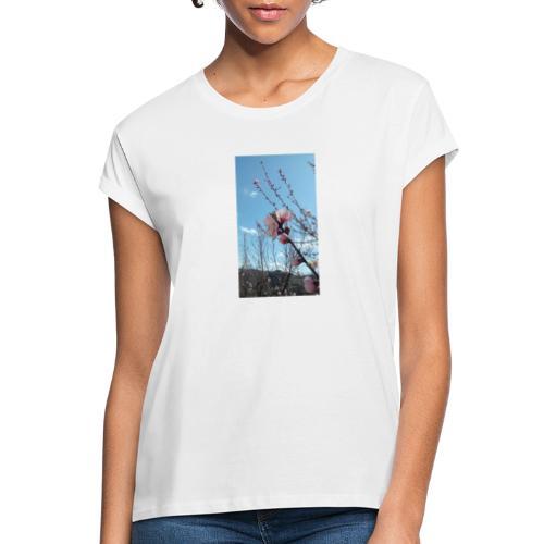 Fiore di pesco - Maglietta ampia da donna