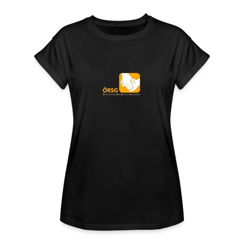 Logo der ÖRSG - Rett Syndrom Österreich - Frauen Oversize T-Shirt