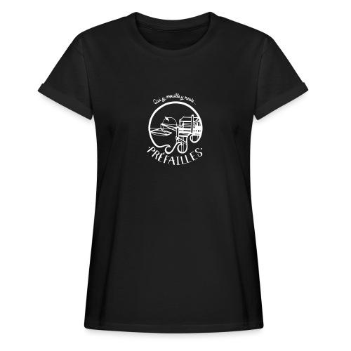 Les pêcheries de Prefailles - T-shirt oversize Femme